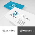 smartdesignさんの次世代クリニックグループ「MEDRiNG」のロゴへの提案