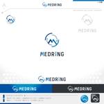 okam_free03さんの次世代クリニックグループ「MEDRiNG」のロゴへの提案