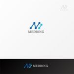 shibamarutaroさんの次世代クリニックグループ「MEDRiNG」のロゴへの提案