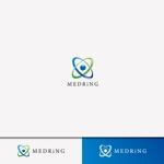 weborgさんの次世代クリニックグループ「MEDRiNG」のロゴへの提案