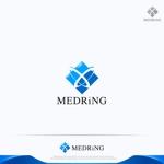 RIKU5555さんの次世代クリニックグループ「MEDRiNG」のロゴへの提案
