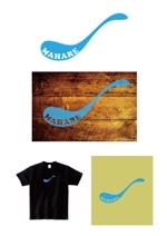 カレー専門店「MAHARE」のショップロゴ募集への提案