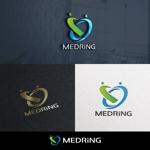 utamaruさんの次世代クリニックグループ「MEDRiNG」のロゴへの提案
