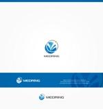 Cobalt_B1ueさんの次世代クリニックグループ「MEDRiNG」のロゴへの提案