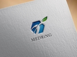 hayate_designさんの次世代クリニックグループ「MEDRiNG」のロゴへの提案