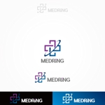 FUKUさんの次世代クリニックグループ「MEDRiNG」のロゴへの提案
