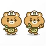 Jellyさんの有限会社竹熊建設 のキャラクターデザインへの提案