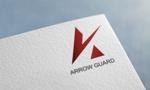 kinv001さんの徽章にもできる「アローガード株式会社」のロゴへの提案