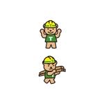 K-digitalsさんの有限会社竹熊建設 のキャラクターデザインへの提案