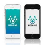 mirai32さんの次世代クリニックグループ「MEDRiNG」のロゴへの提案