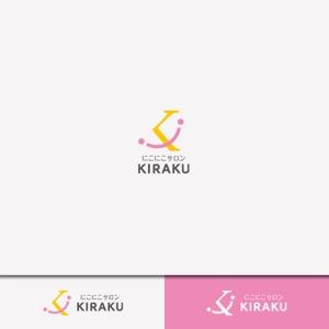 weborgさんのリラクゼーションサロン  「にこにこサロン KIRAKU」 のロゴへの提案
