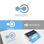 minervaabbeさんの次世代クリニックグループ「MEDRiNG」のロゴへの提案