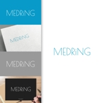 charisabseさんの次世代クリニックグループ「MEDRiNG」のロゴへの提案