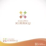 oo_designさんのリラクゼーションサロン  「にこにこサロン KIRAKU」 のロゴへの提案