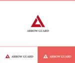 web-pro100さんの徽章にもできる「アローガード株式会社」のロゴへの提案
