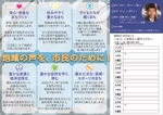 SanaeShibuyaさんの市議会議員選挙のリーフレット(後援会パンフレット)への提案