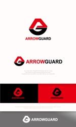 mahou-photさんの徽章にもできる「アローガード株式会社」のロゴへの提案