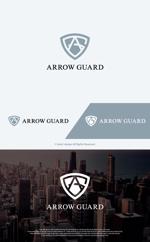 take5-designさんの徽章にもできる「アローガード株式会社」のロゴへの提案