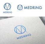 e-netsさんの次世代クリニックグループ「MEDRiNG」のロゴへの提案