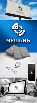katsu31さんの次世代クリニックグループ「MEDRiNG」のロゴへの提案