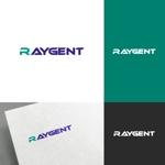 venusableさんの広告会社「Raygent(レイジェント)」のロゴへの提案