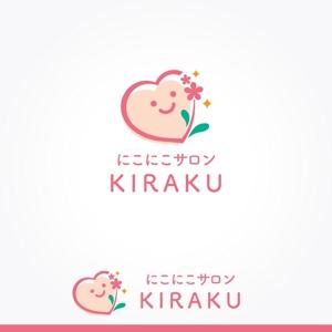 fuku33さんのリラクゼーションサロン  「にこにこサロン KIRAKU」 のロゴへの提案