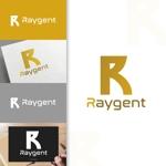 charisabseさんの広告会社「Raygent(レイジェント)」のロゴへの提案