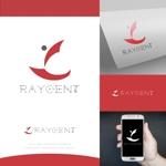 fortunaaberさんの広告会社「Raygent(レイジェント)」のロゴへの提案