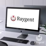 mirai32さんの広告会社「Raygent(レイジェント)」のロゴへの提案