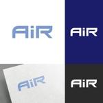 venusableさんの空調業(エアコン業)です。「AIR」を使ったロゴ作成依頼への提案