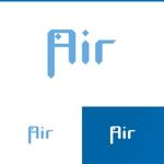 athenaabyzさんの空調業(エアコン業)です。「AIR」を使ったロゴ作成依頼への提案