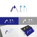 minervaabbeさんの空調業(エアコン業)です。「AIR」を使ったロゴ作成依頼への提案