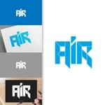 charisabseさんの空調業(エアコン業)です。「AIR」を使ったロゴ作成依頼への提案