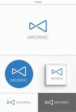 DeeDeeGraphicsさんの次世代クリニックグループ「MEDRiNG」のロゴへの提案