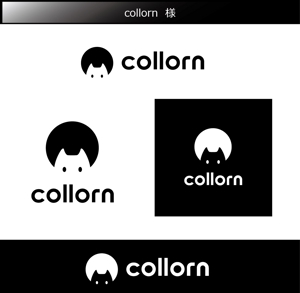 FISHERMANさんの個人で運営するウェブメディア「collorn」のロゴ への提案