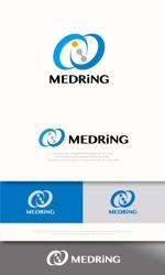 mahou-photさんの次世代クリニックグループ「MEDRiNG」のロゴへの提案