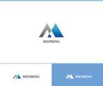 web-pro100さんの次世代クリニックグループ「MEDRiNG」のロゴへの提案