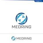 fs8156さんの次世代クリニックグループ「MEDRiNG」のロゴへの提案