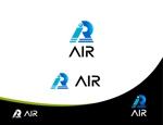 Suisuiさんの空調業(エアコン業)です。「AIR」を使ったロゴ作成依頼への提案