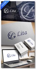 hirokiabe58さんのPR会社「LITA」のロゴへの提案