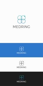 designdesignさんの次世代クリニックグループ「MEDRiNG」のロゴへの提案