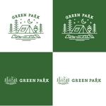 shinyakさんの人気アウトドア複合施設 グリーンパーク山東のロゴへの提案