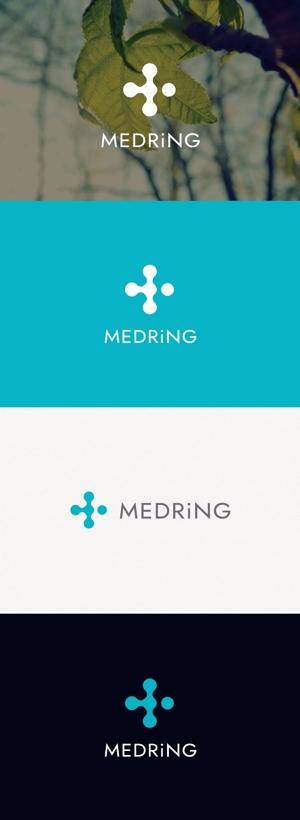tanaka10さんの次世代クリニックグループ「MEDRiNG」のロゴへの提案