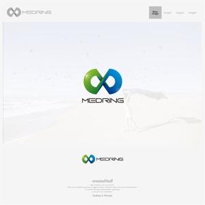 onesizefitsallさんの次世代クリニックグループ「MEDRiNG」のロゴへの提案