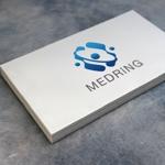headdip7さんの次世代クリニックグループ「MEDRiNG」のロゴへの提案