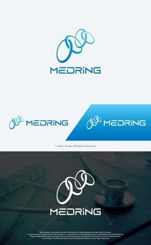 take5-designさんの次世代クリニックグループ「MEDRiNG」のロゴへの提案