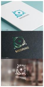 moguaiさんの次世代クリニックグループ「MEDRiNG」のロゴへの提案