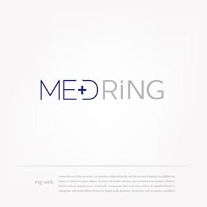 mg_webさんの次世代クリニックグループ「MEDRiNG」のロゴへの提案