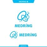 queuecatさんの次世代クリニックグループ「MEDRiNG」のロゴへの提案