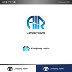 minami-mi-natzさんの空調業(エアコン業)です。「AIR」を使ったロゴ作成依頼への提案